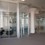 Flex Series Flexible Demountable Glass Office Front - Boston, MA
