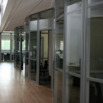 Flex Series Higher Education Glass Fronts with Radiused Corners