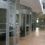 Flex Series Radiused Glass Fronts (Higher Education)