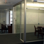 Flex Series - Full Height Glass Office Fronts with Anodized Finish - Chicago, IL